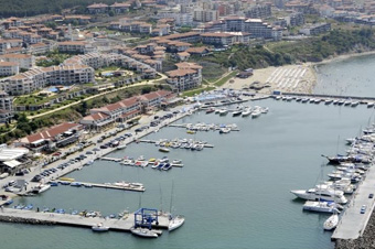 Marina at St. Vlas